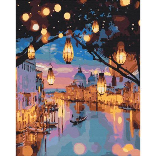 Éjjeli fények Velencében